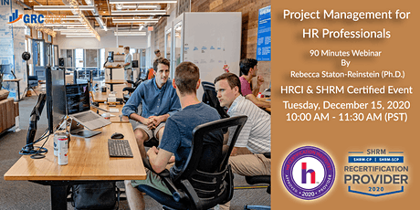 Project Management for Human Resources Professionals tickets