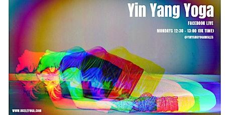 30 min Yin Yang Yoga | Facebook Live | Free tickets