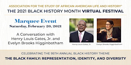 A Conversation with Henry Louis Gates, Jr. and Evelyn Brooks Higginbotham tickets