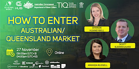HOW TO ENTER  AUSTRALIAN/ QUEENSLAND MARKET tickets