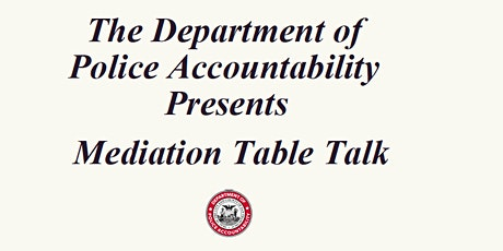 DPA Information Session: Mediation Table Talk tickets