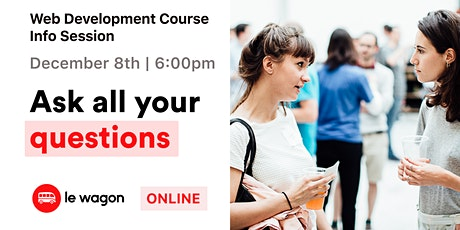 Web Development Course Info Session tickets