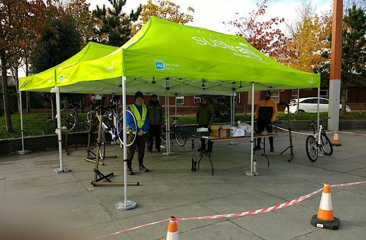 Bike Fix Basics - CS Lewis Square, Belfast image