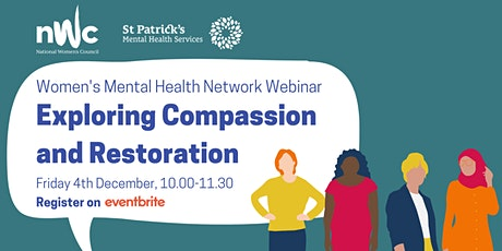 Women's Mental Health Network  - Exploring Compassion and Restoration tickets