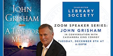 Zoom Speaker Series: John Grisham with Cassandra King Conroy tickets