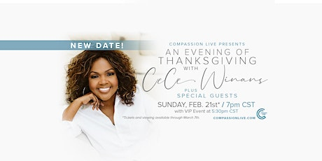 An Evening of Thanksgiving with CeCe Winans! tickets