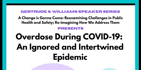Overdose During COVID-19: An Ignored and Intertwined Epidemic tickets