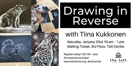 Drawing in Reverse Workshop tickets