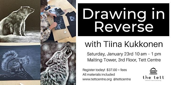 Drawing in Reverse Workshop image
