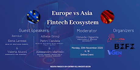 Europe vs Asia: Fintech Ecosystem tickets