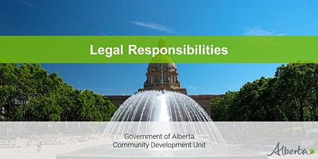 Board Development Program - Legal Responsibilities Webinar tickets