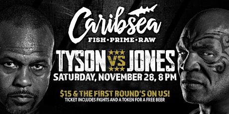 Tyson vs. Jones at Caribsea tickets