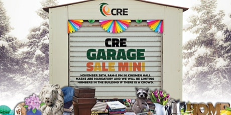CRE Garage Sale Mini tickets