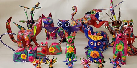 Kid's Class: Paint Your Own Alebrije with Puech Ikots' Carlos Orozco tickets