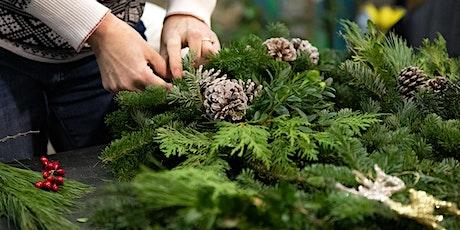 DIY Holiday Wreath Workshops tickets