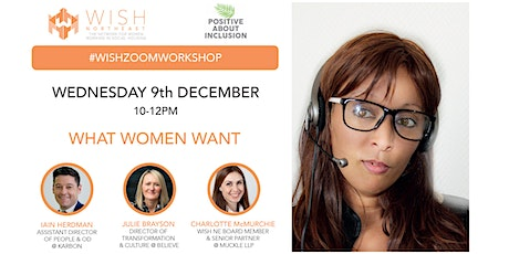 WISH North East Workshop: What Women Want tickets