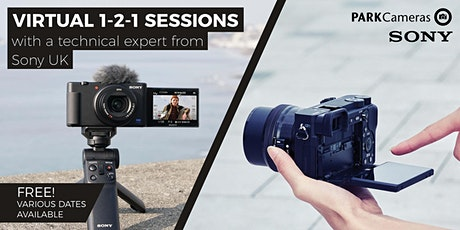 FREE Virtual 1-2-1 sessions with Park Cameras and Sony tickets