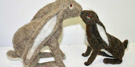 Needle Felted Hares tickets