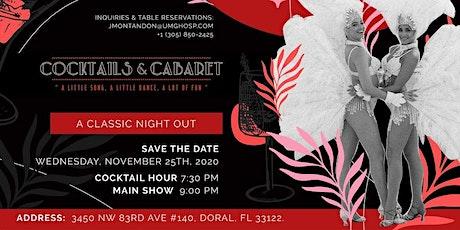 Cocktails + Cabaret at Kuba Cabana Miami tickets