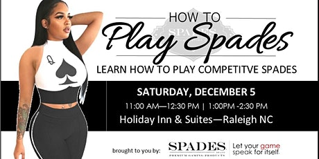 CLASS: How to Play Competitive Spades tickets