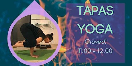 Tapas Yoga biglietti