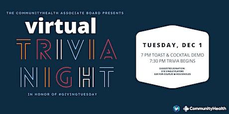 CommunityHealth's Associate Board Presents: #GivingTuesday Trivia Night tickets