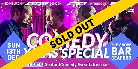 Comedy Xmas Special at The Shore Bar, Seaford! tickets