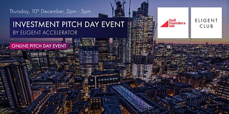 Online Investment Pitch Day by Eligent Accelerator - Live Broadcast tickets