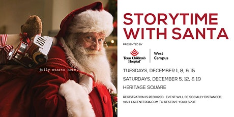 Storytime with Santa Presented By Texas Children's Hospital tickets