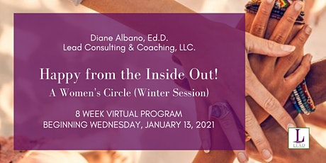 Happy from the Inside Out - A Women's Circle for 8 Weeks (Winter Session) tickets