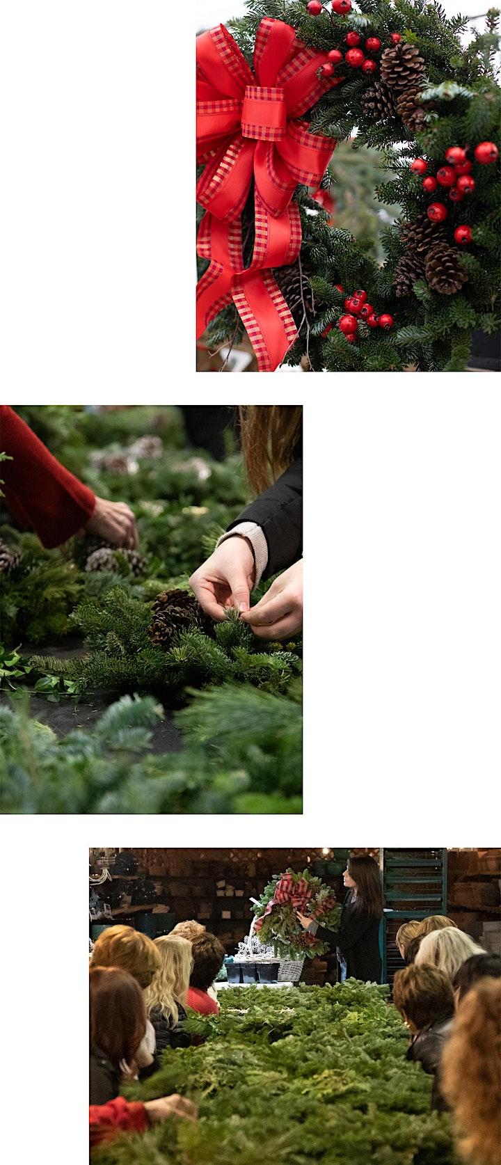 DIY Holiday Wreath Workshops image