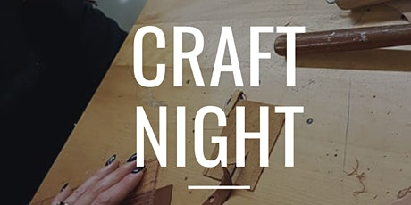 Craft Night - Online and In Person tickets