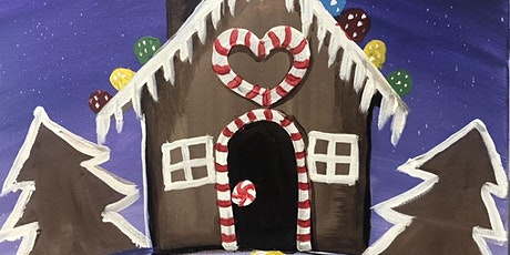 Gingerbread House Carstairs Paint Night tickets