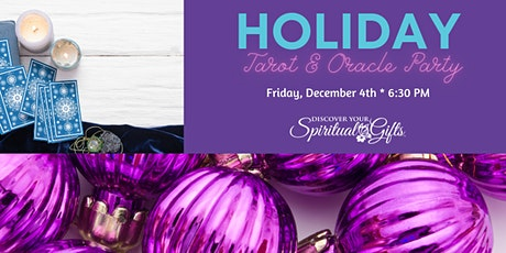 Holiday Tarot & Oracle Cards Party tickets