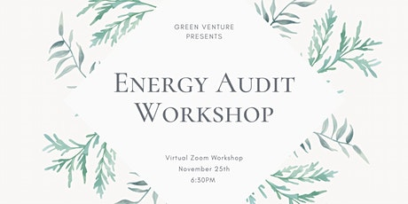 Energy Auditing Workshop tickets