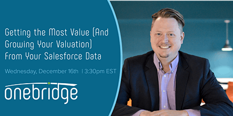 Getting the Most Value  from Your Salesforce Data tickets