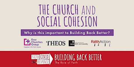 Building Back Better Conference: The Church and Social Cohesion tickets