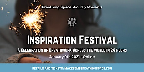 Inspiration Festival: a Celebration of Breathwork in 24 hours Early Bird tickets