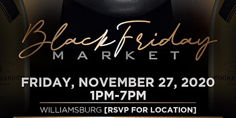 HOOKEDBYDREE & FORGE NOIR  Present | Black Friday Market tickets
