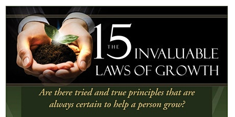 Ready for 2021: The 15 Invaluable Laws of Growth with Dr. Melinda C. Hill tickets