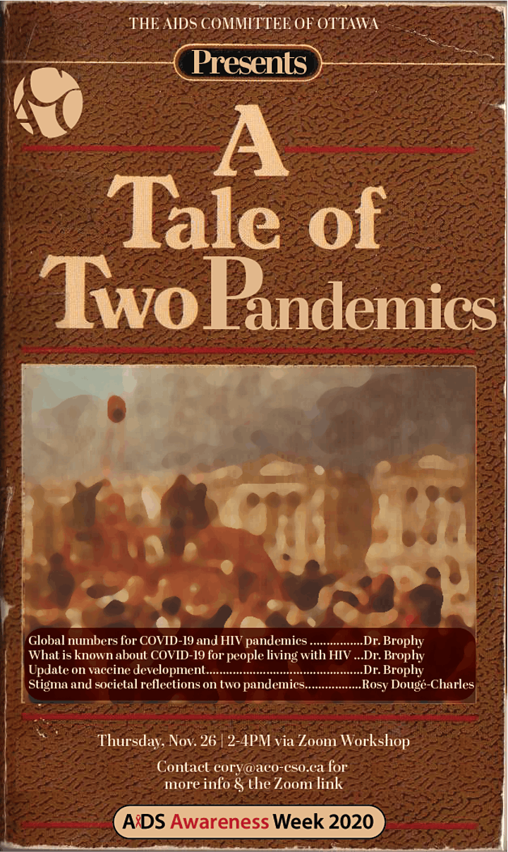 A Tale of Two Pandemics - HIV & COVID-19 image