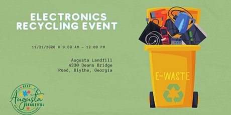 Electronics Recycling tickets