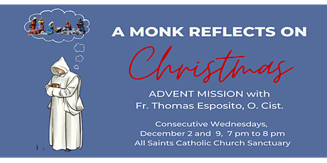 Click for  Parish Mission Tickets DEC2 & DEC9