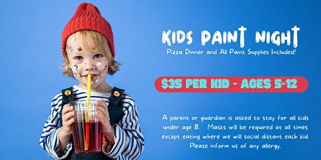 Kids Paint Night tickets