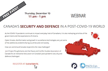 Canada's Security and Defence in a Post-COVID-19 World tickets