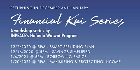 $AVINGS $IMPLIFIED- Financial Kai Series by INPEACE Ho'oulu Waiwai tickets