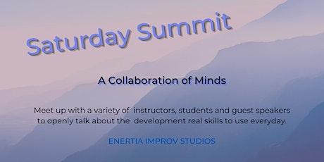 Saturday Improv Summit    with Keith Harris
