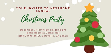 NextHome Annual Christmas Party tickets