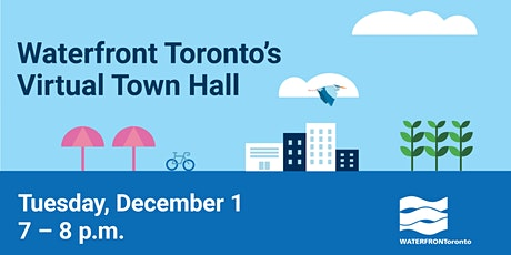 Waterfront Toronto's Virtual Town Hall tickets