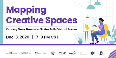 Kenora/Sioux Narrows-Nestor Falls  Mapping Northern Creative Spaces Forum tickets